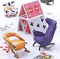 The Collectible Vanderbilt Miniature Chair is perfect for your Doll House.